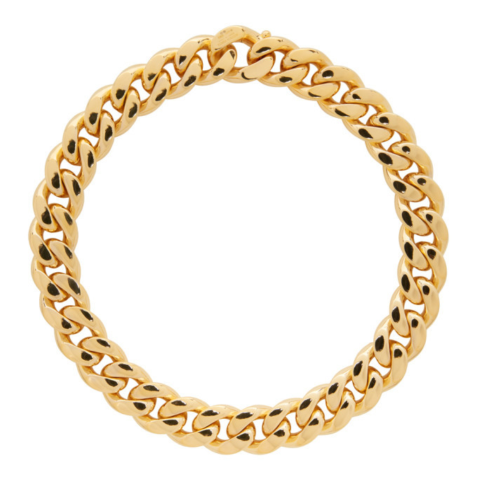 Photo: Bottega Veneta Gold Curb Chain Necklace
