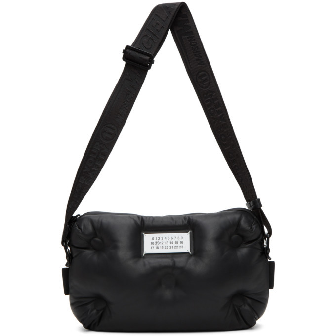 Photo: Maison Margiela Black Leather Glam Slam Messenger Bag