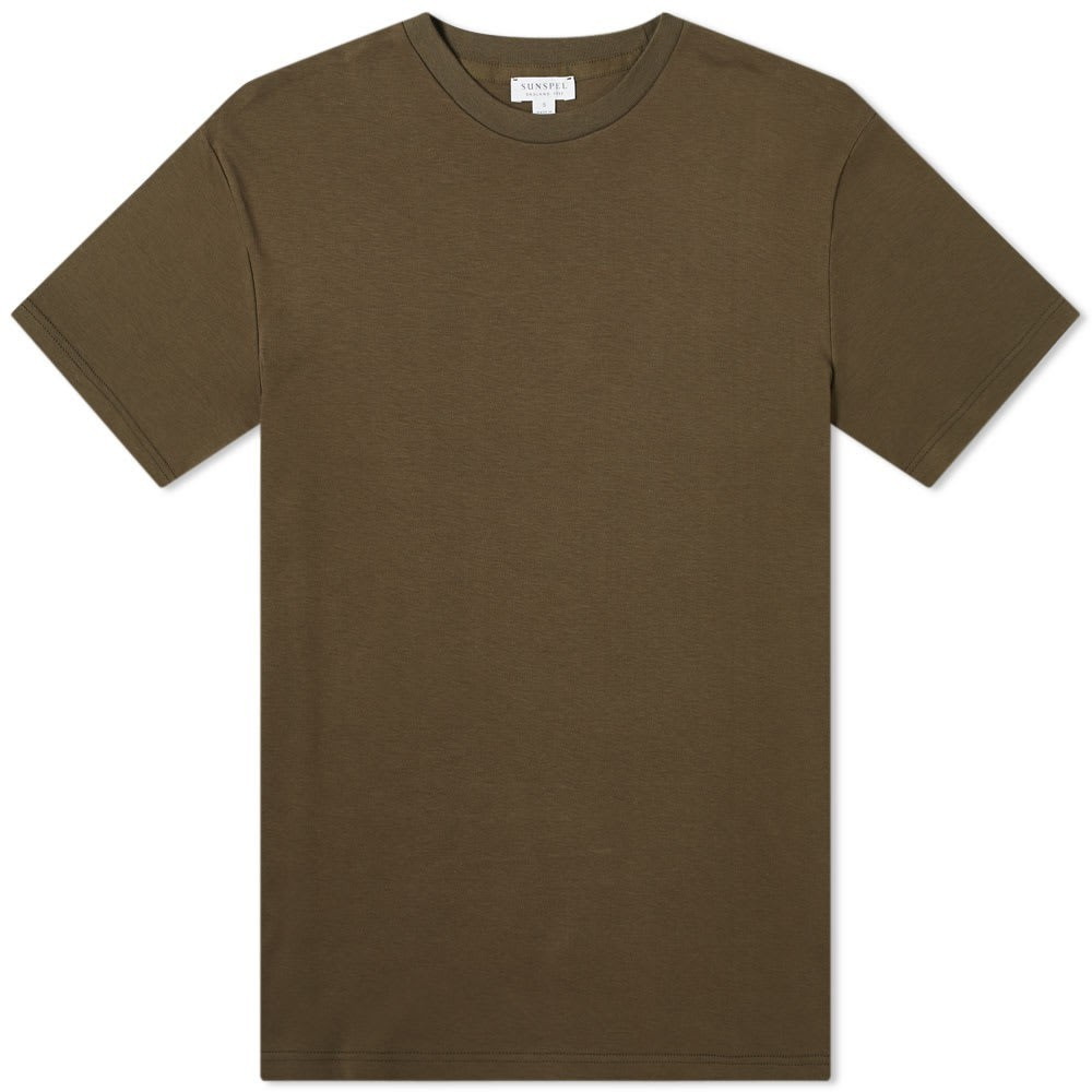 Sunspel Relaxed Fit Crew Neck Tee