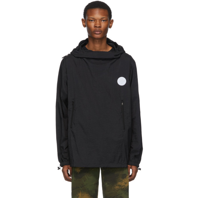 Photo: Off-White Black Packable Rain Jacket