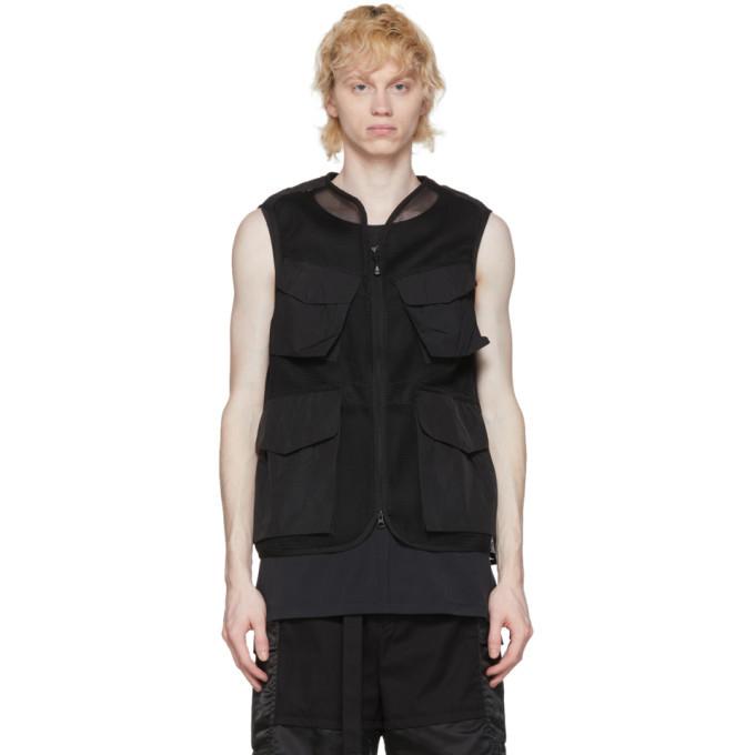 Photo: Snow Peak Black Mesh Vest