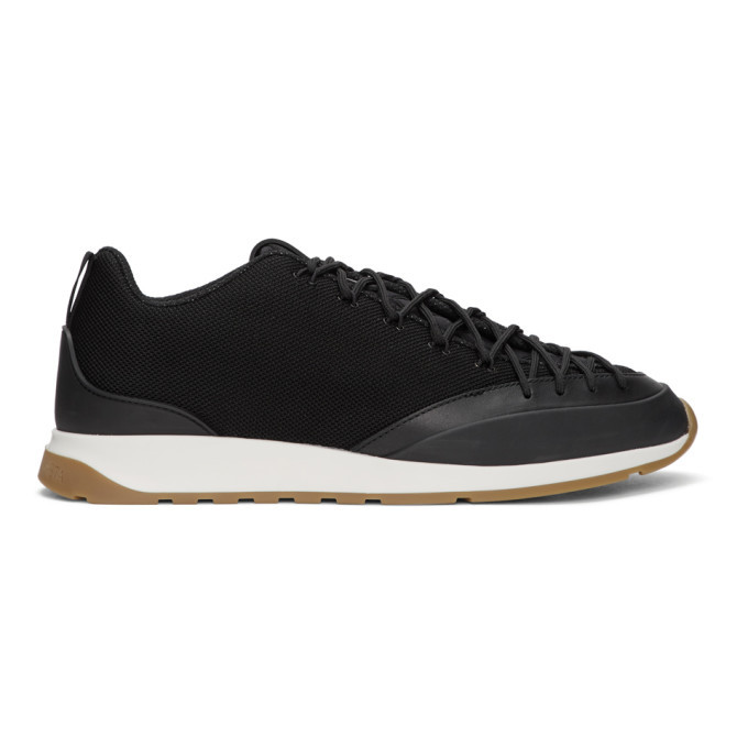 Photo: Bottega Veneta Black Low Sneakers