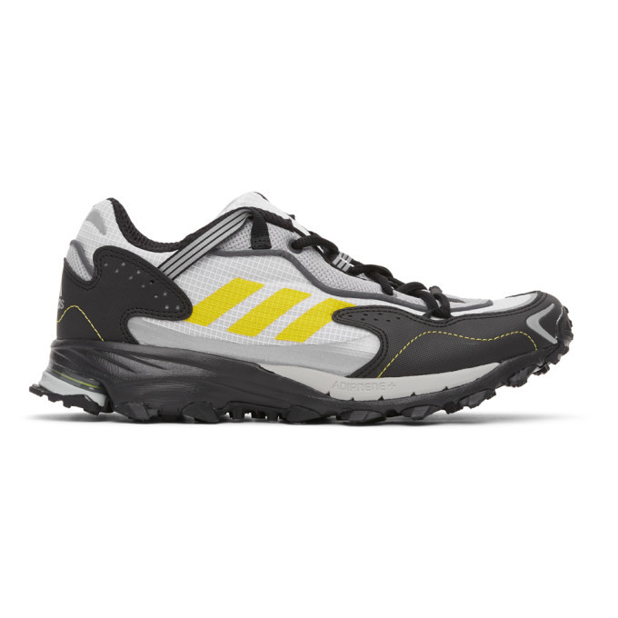 adidas Originals White and Black Response Hoverturf GF6100A Sneakers