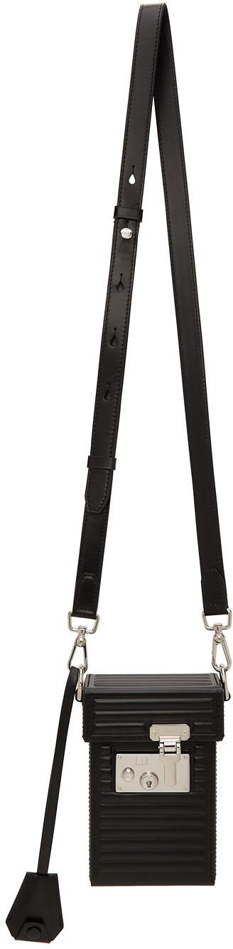 Dunhill Black Lock Bag