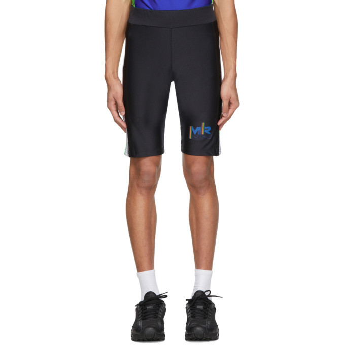 Photo: Martine Rose SSENSE Exclusive Black and Blue Cycling Shorts