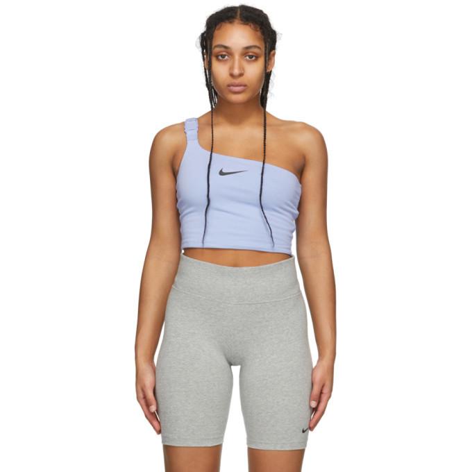 Photo: Nike Purple Sportswear Swoosh Tank Top