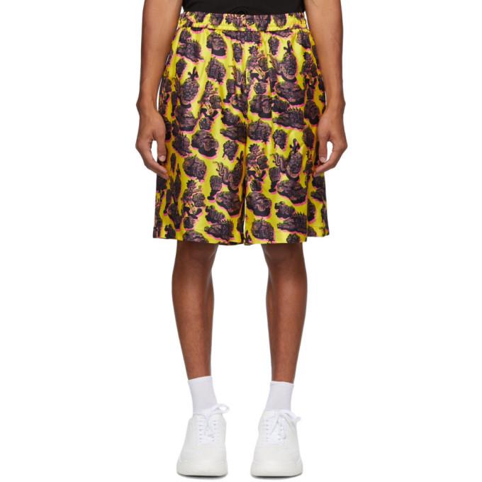Stella McCartney Yellow Timothy Shorts