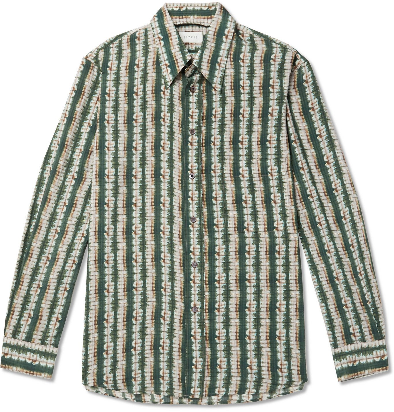 Photo: Lemaire - Printed Silk Shirt - Multi