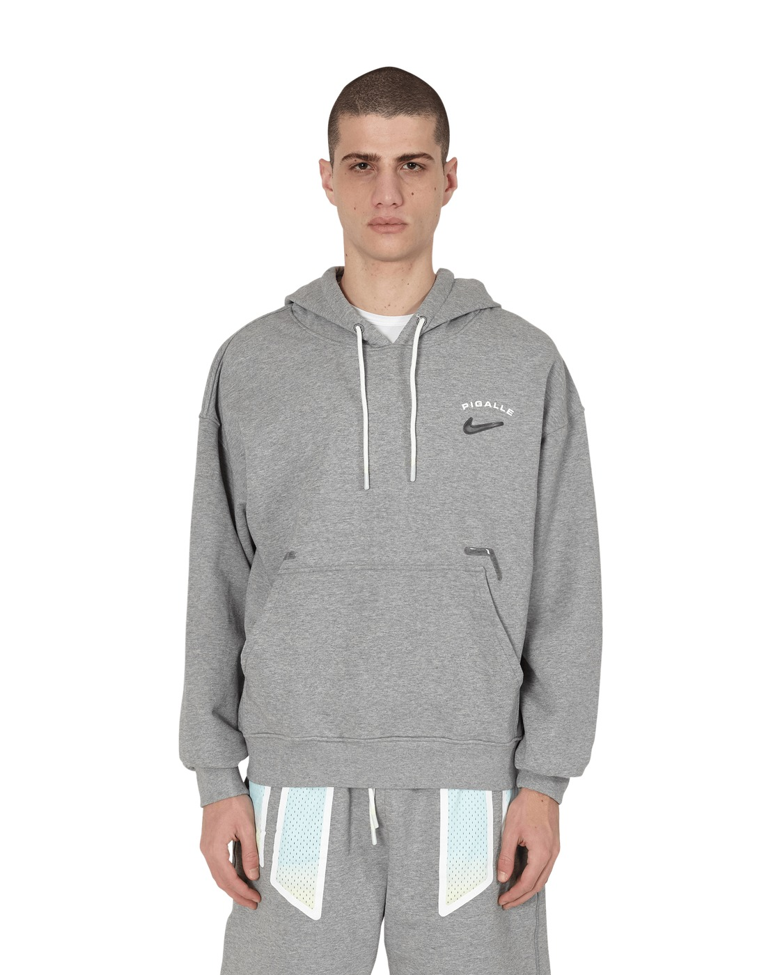 Nike Special Project Pigalle Hooded Sweatshirt Dk Grey Heather