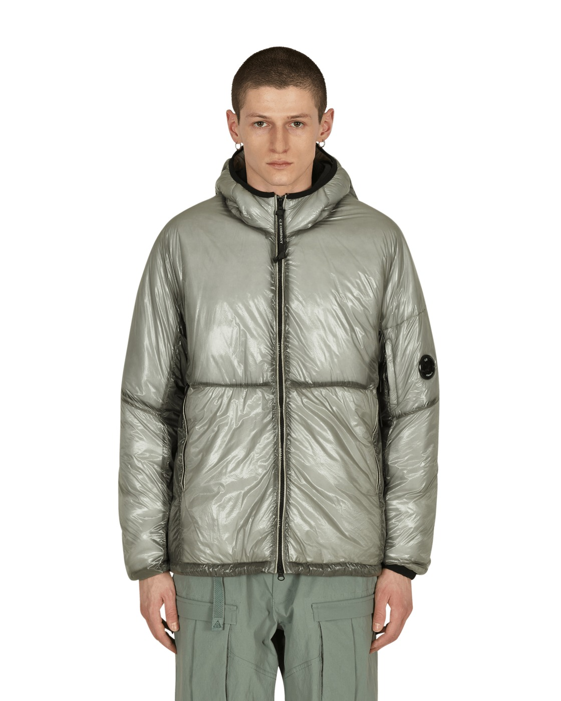 Photo: C.P. Company Primaloft Down Jacket Quiet Gray