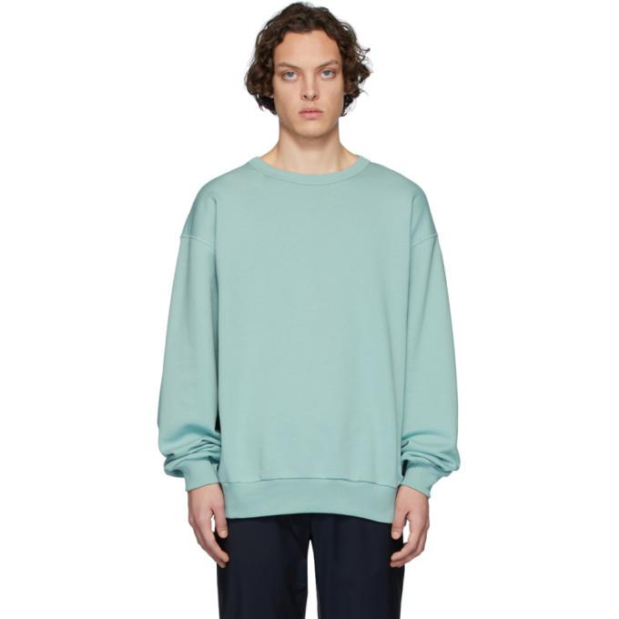 Photo: Dries Van Noten Blue Hoxto Sweatshirt