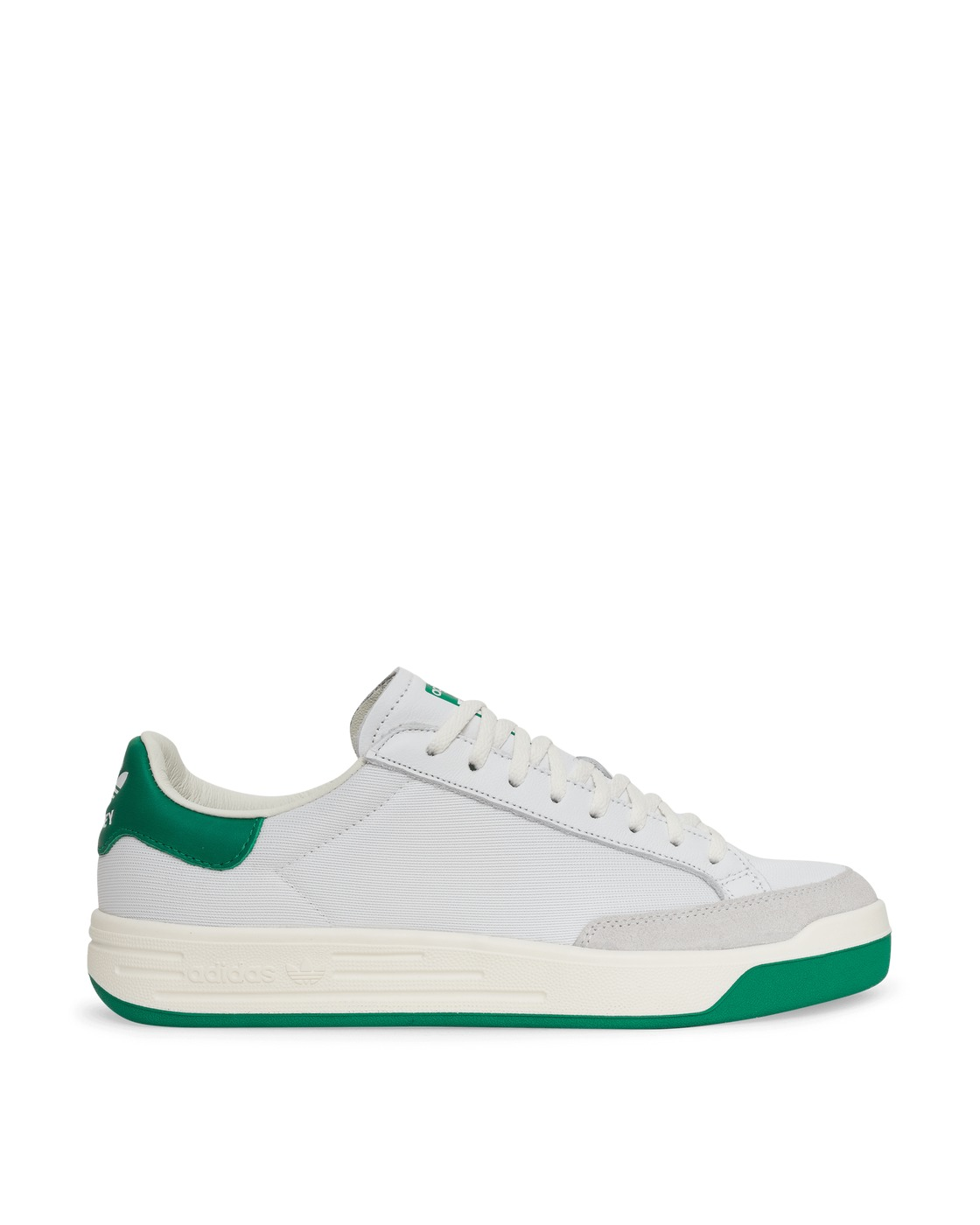 Photo: Adidas Originals Rod Laver Sneakers Ftwr White/Green 41