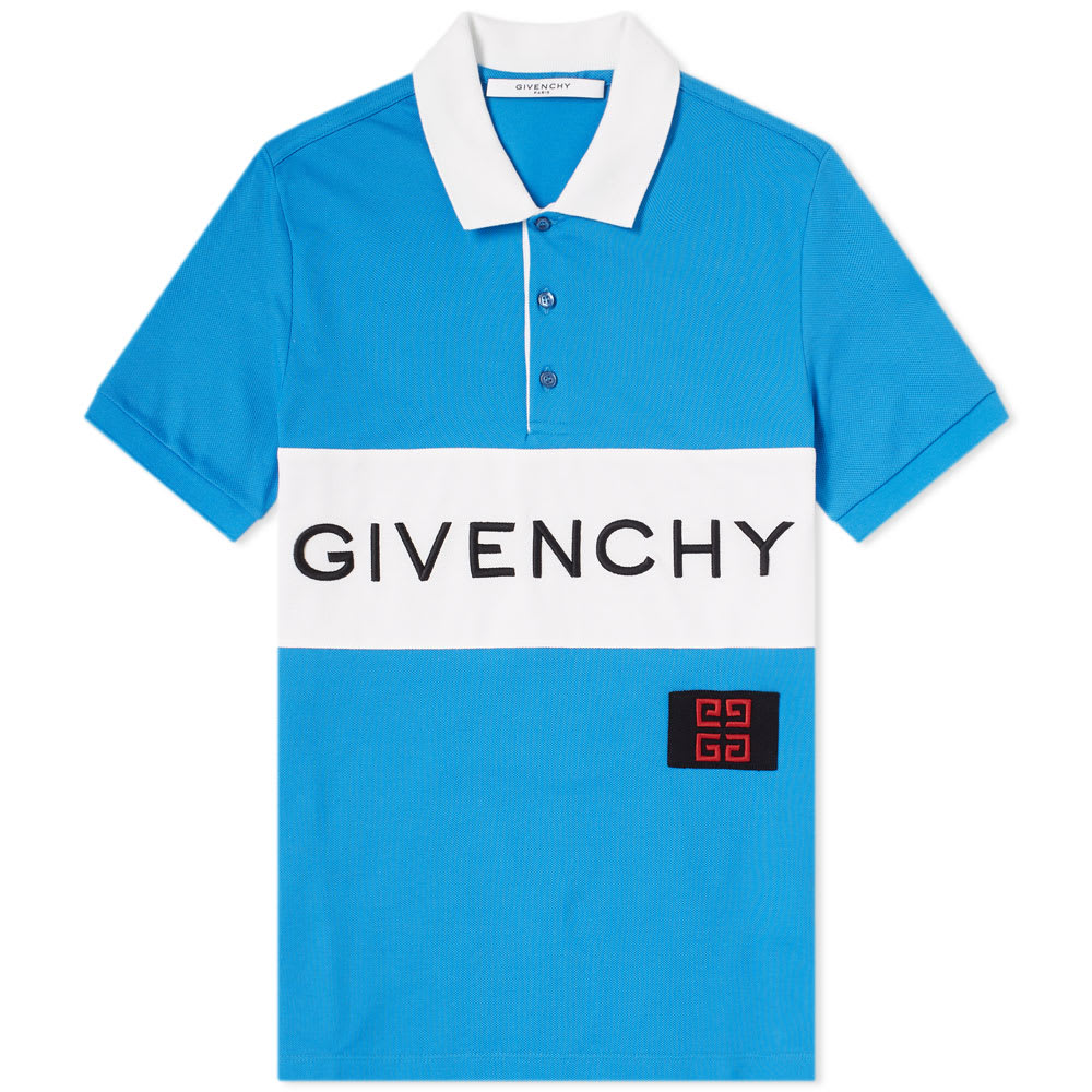 Photo: Givenchy Logo Polo