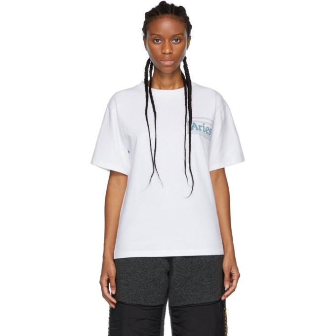 Aries White Jimbo T-Shirt