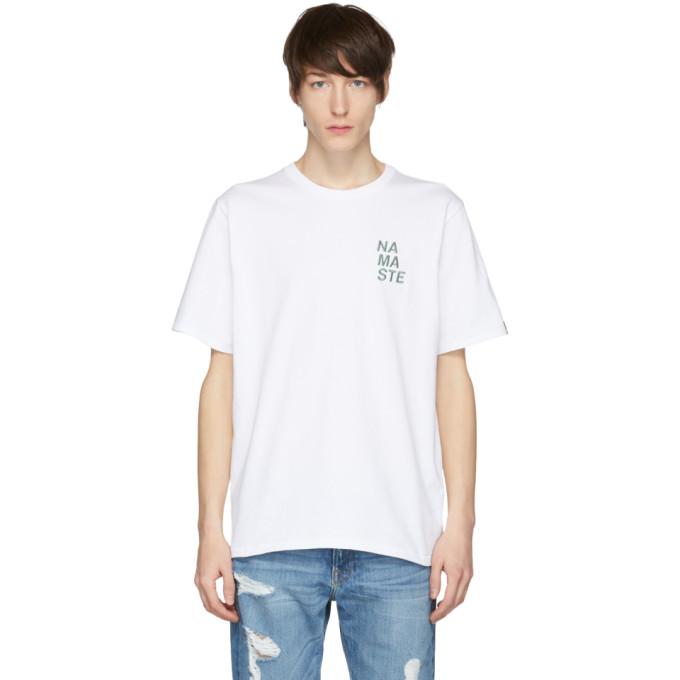 Photo: Rag and Bone White Namaste T-Shirt