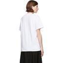 Raf Simons White Couple Slim Fit T-Shirt
