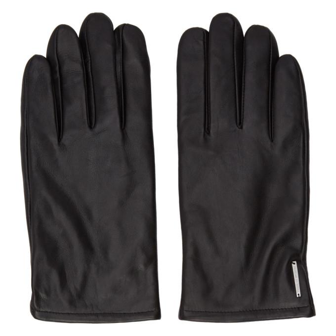 Photo: Tiger of Sweden Black Garven Gloves