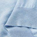 Saman Amel - Slim-Fit Cotton Polo Shirt - Blue