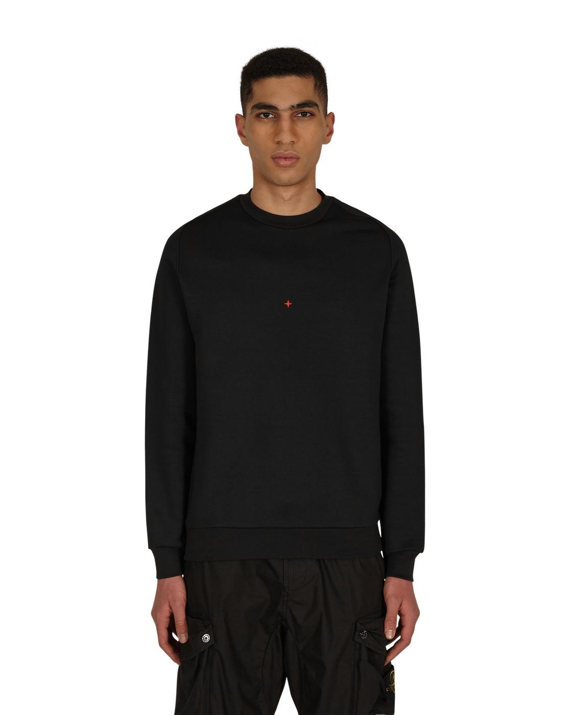 Stone Island Marina Crewneck Sweatshirt Black