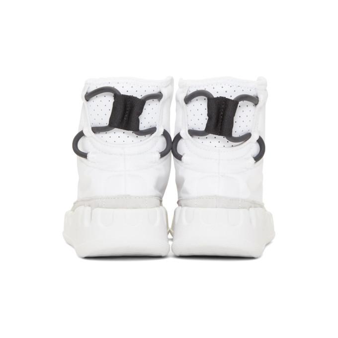 Y-3 White Kasabaru High-Top Sneakers