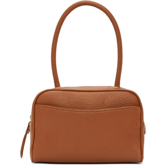 Photo: BY FAR Tan Martin Top Handle Bag