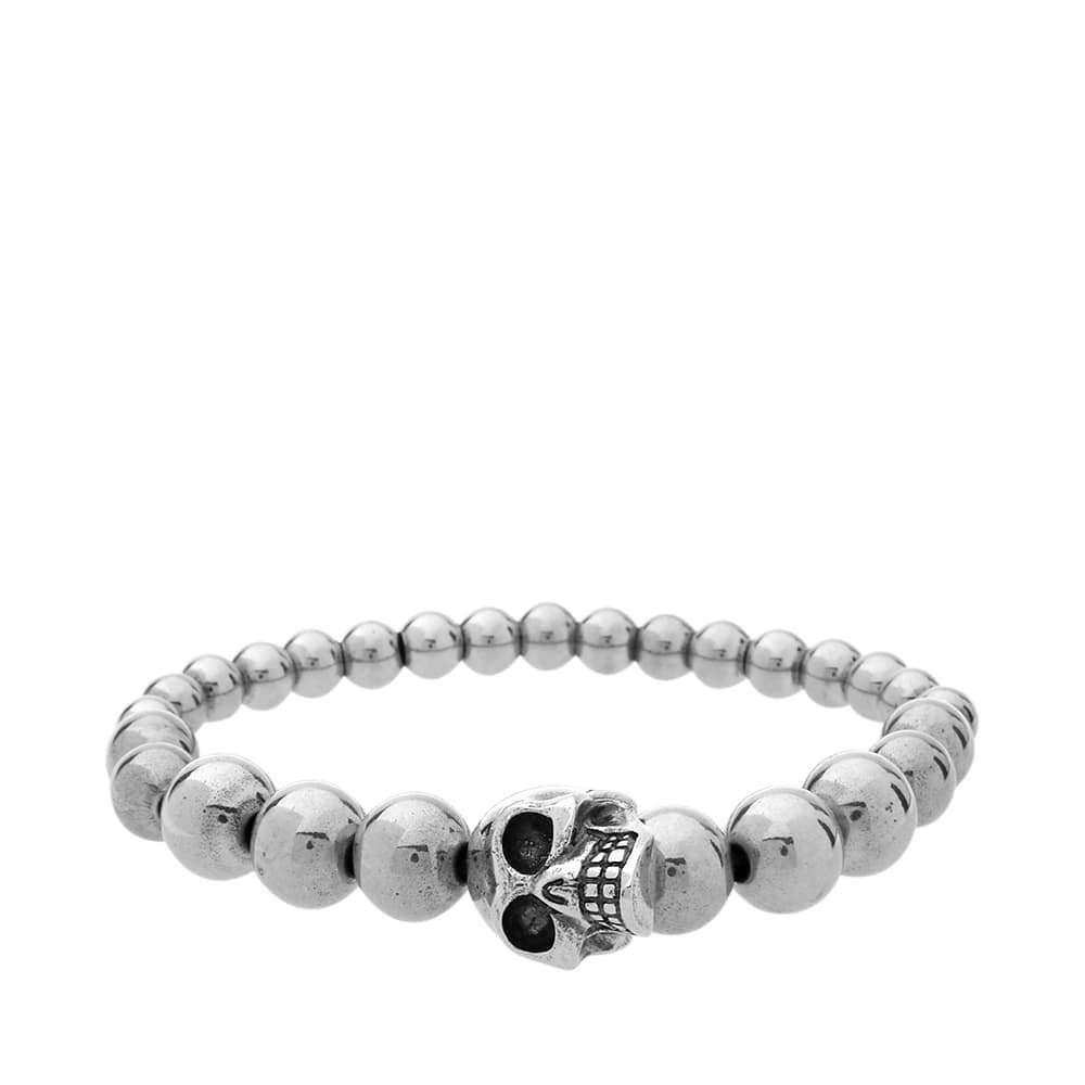 Photo: Alexander McQueen Skull Ball Bracelet