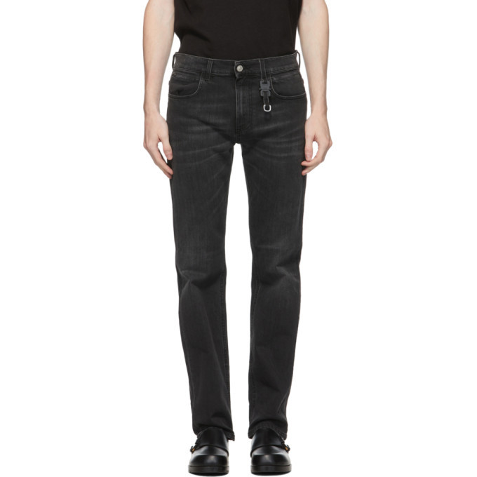 Photo: 1017 ALYX 9SM Black Classic Buckle Jeans
