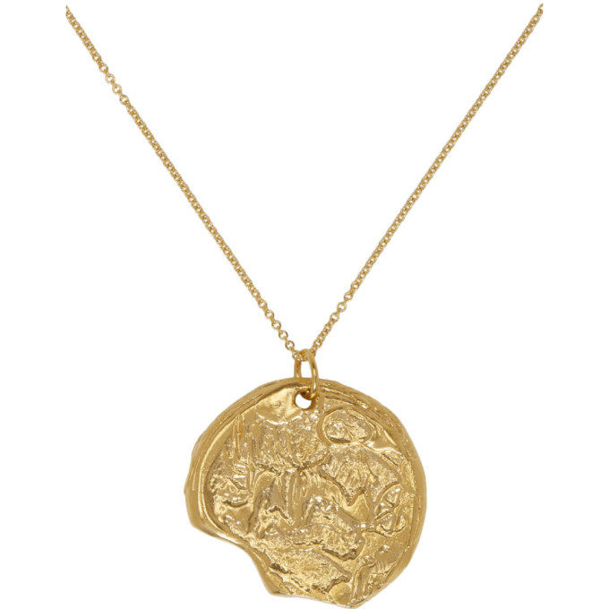 Alighieri Gold The Kindred Souls Necklace