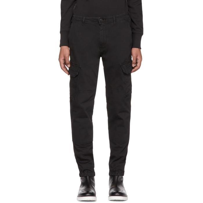 Belstaff Black Thorney Cargo Pants
