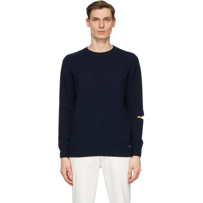 Photo: Stella McCartney Navy Shared Regenerated Cashmere Sweater