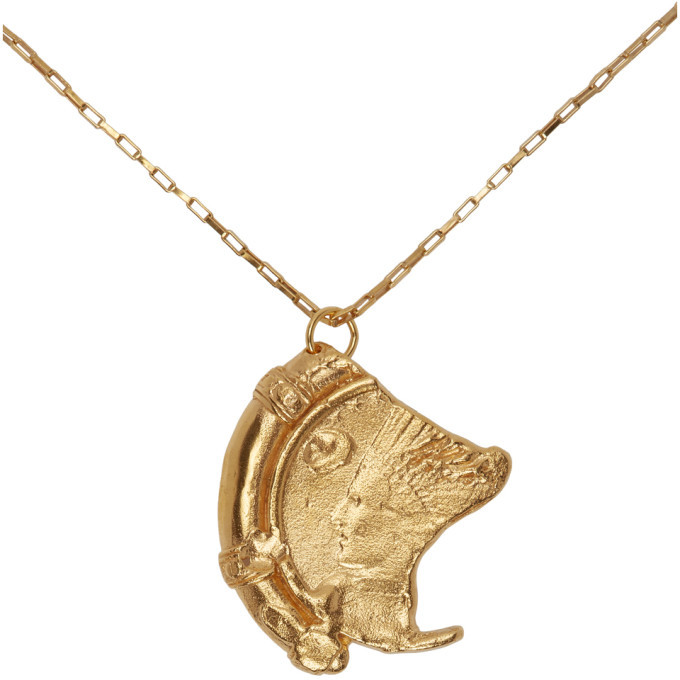 Alighieri Gold The Old Times Sake Chapter I Necklace