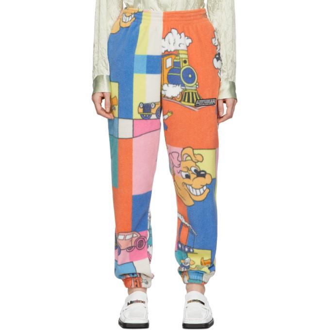 Martine Rose Multicolor Fleece Bunny Lounge Pants