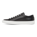 Common Projects Black Leather Achilles Sneakers