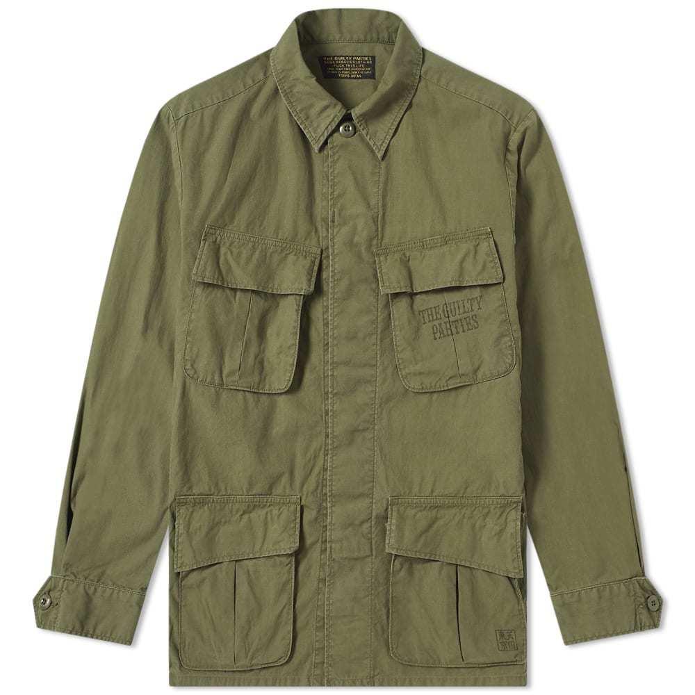 Photo: Wacko Maria Fatigue Jacket Khaki
