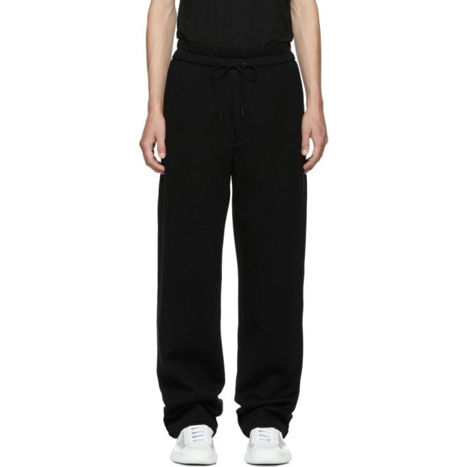 Photo: 3.1 Phillip Lim Black Wide-Leg Sweatpants