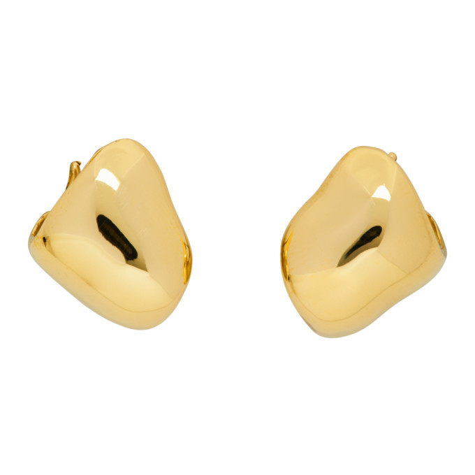 Photo: Faris Gold Chubs Hoop Earrings