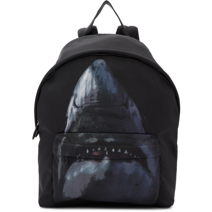 Photo: Givenchy Black Shark Backpack