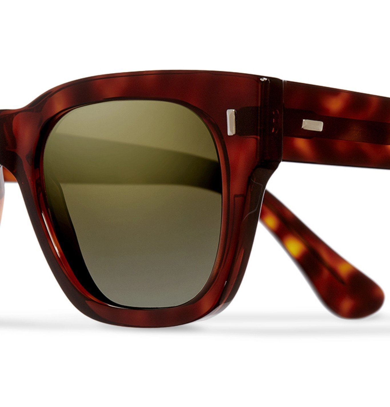 Cutler and Gross - D-Frame Tortoiseshell Acetate Sunglasses - Brown