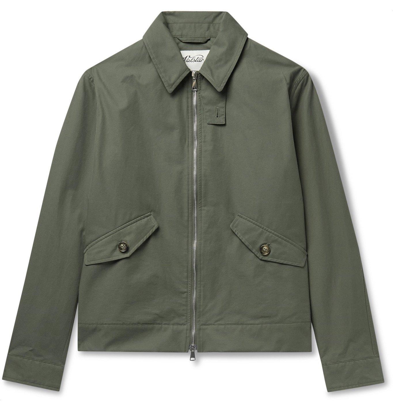 Photo: Valstar - Cotton-Blend Twill Jacket - Green