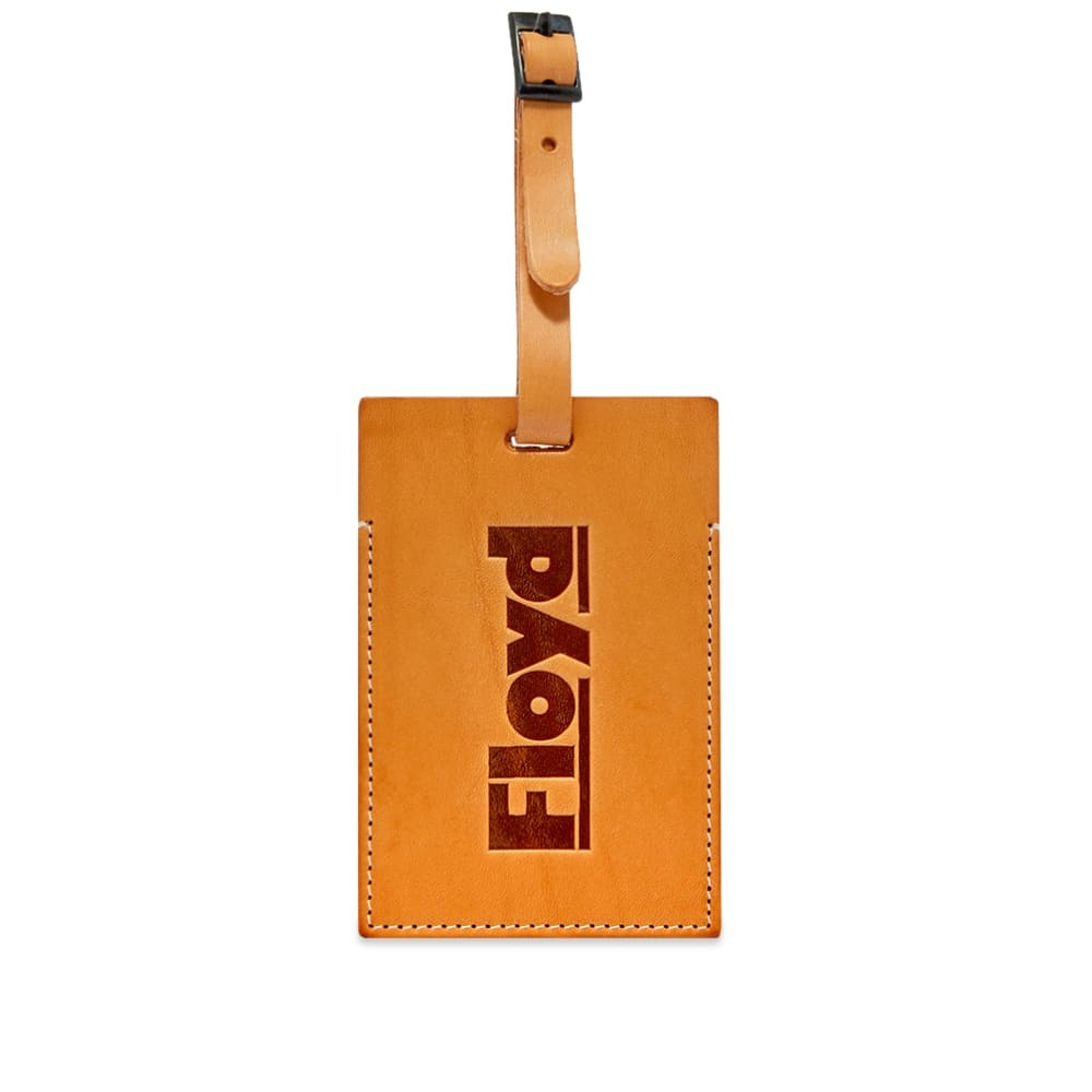Photo: Floyd Natural Leather Luggage Tag