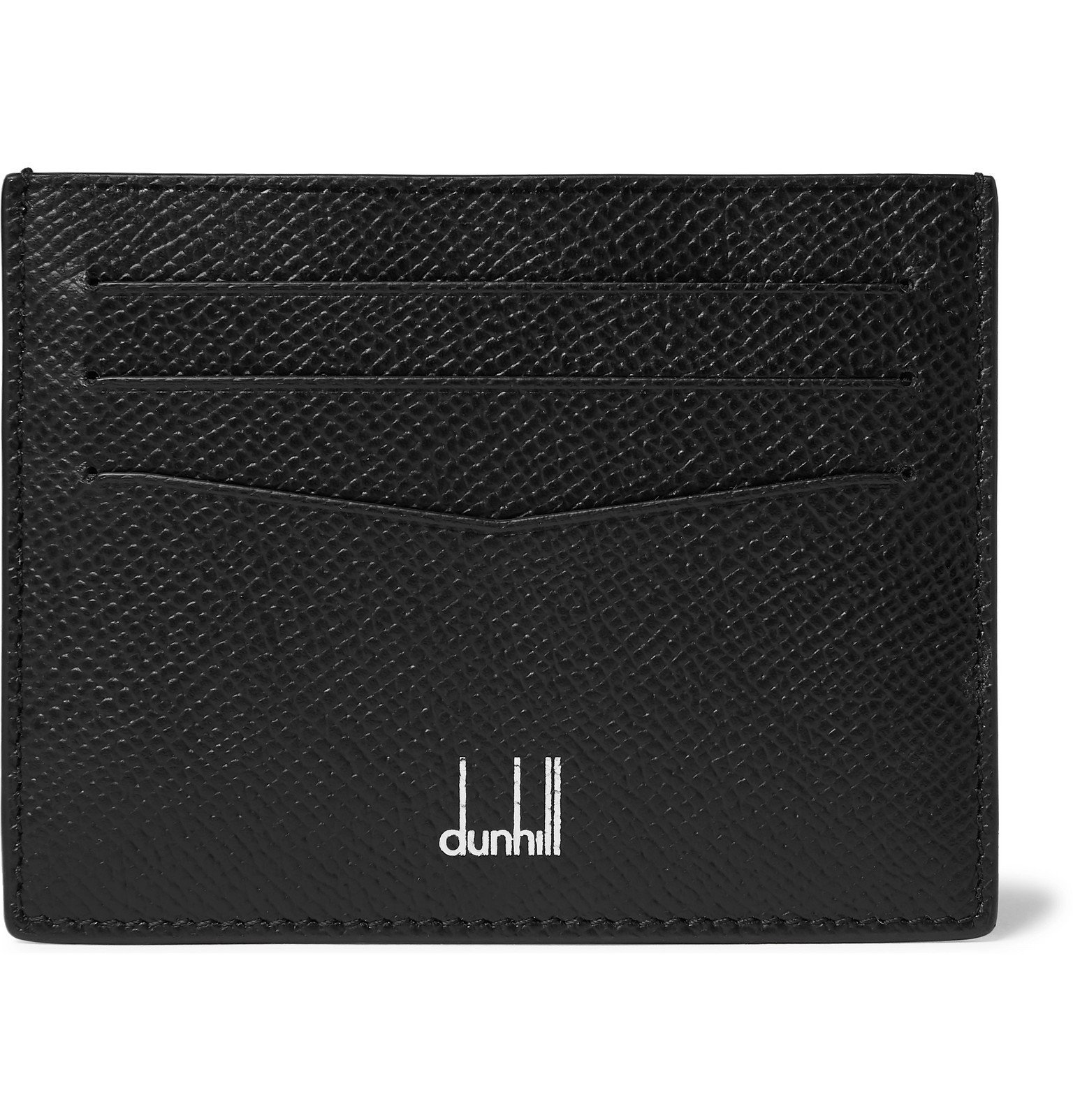Photo: Dunhill - Cadogan Full-Grain Leather Cardholder - Black