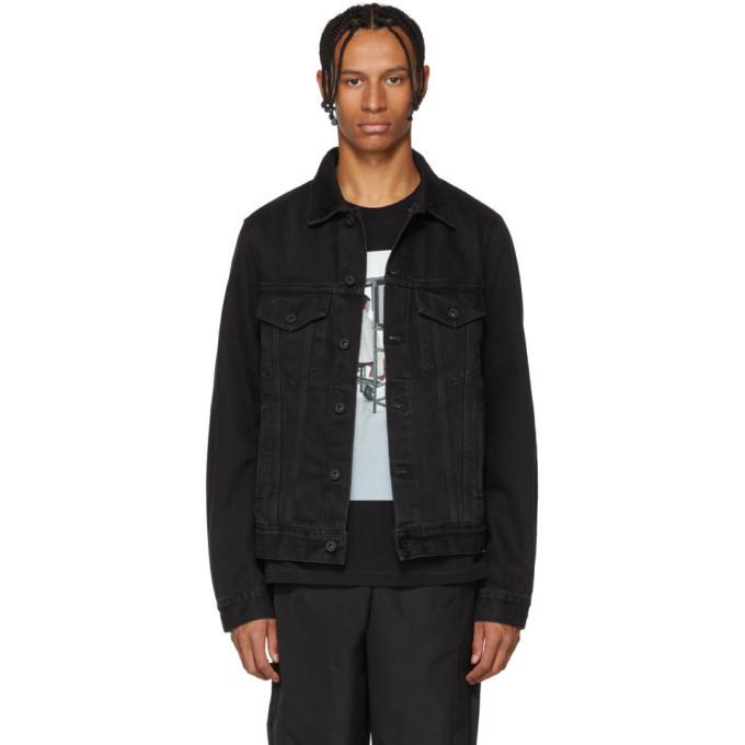 Photo: Off-White Black Byredo Edition Denim Jacket