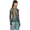 GmbH Black Digital Print Sweater
