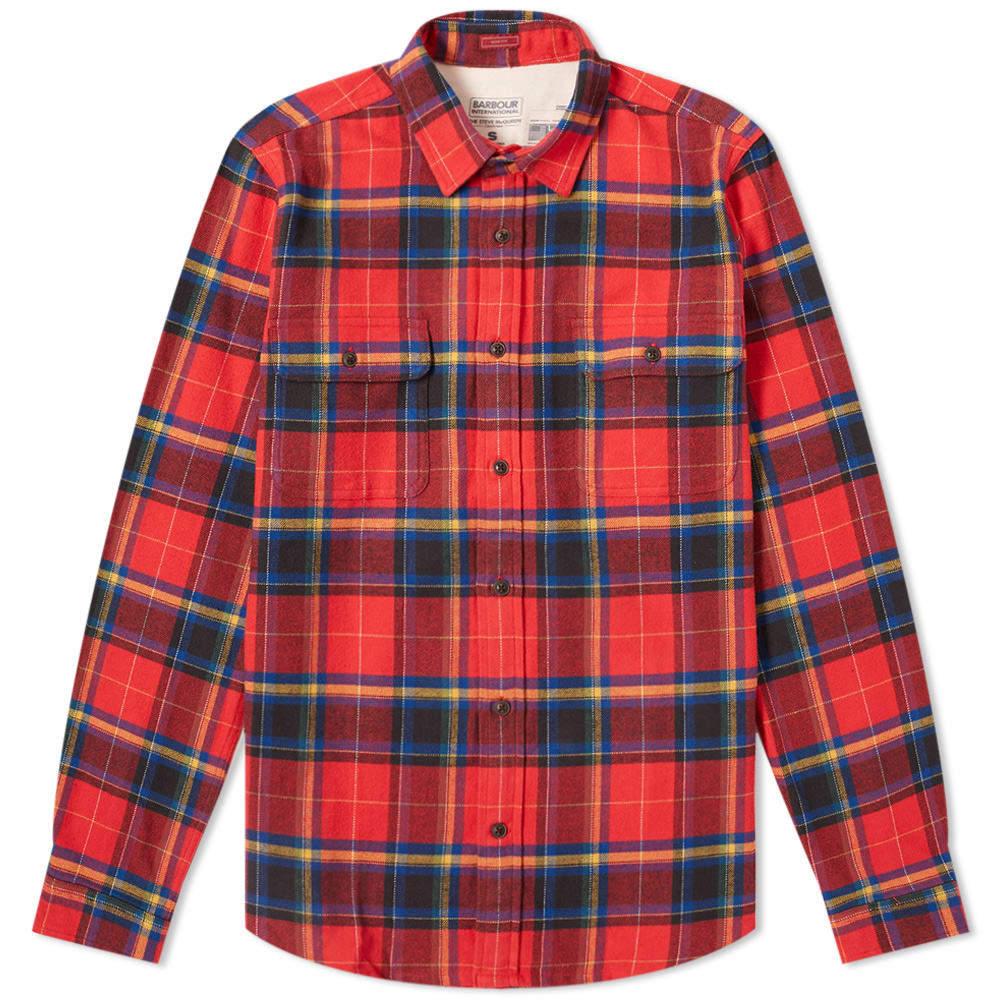 Photo: Barbour International Chuck Shirt
