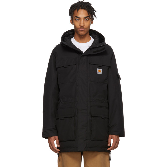 Photo: Carhartt Work In Progress Black Hendon Parka