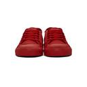 Raf Simons Red adidas Originals Edition Spirit Low Sneakers