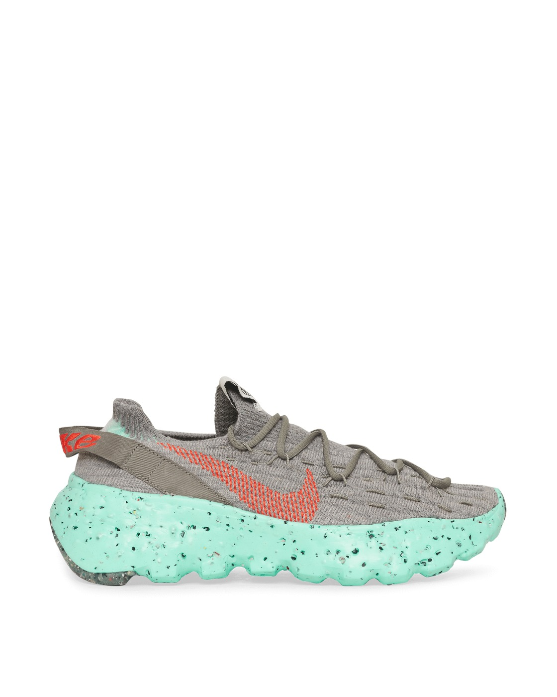 Photo: Nike Space Hippie 04 Sneakers Dark Stucco/Team Orange