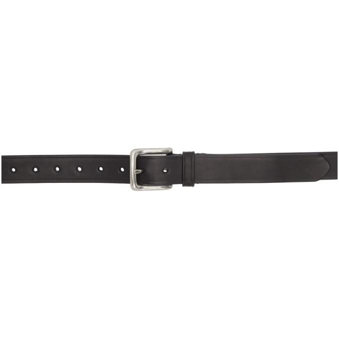 Photo: Etro Black Leather Belt