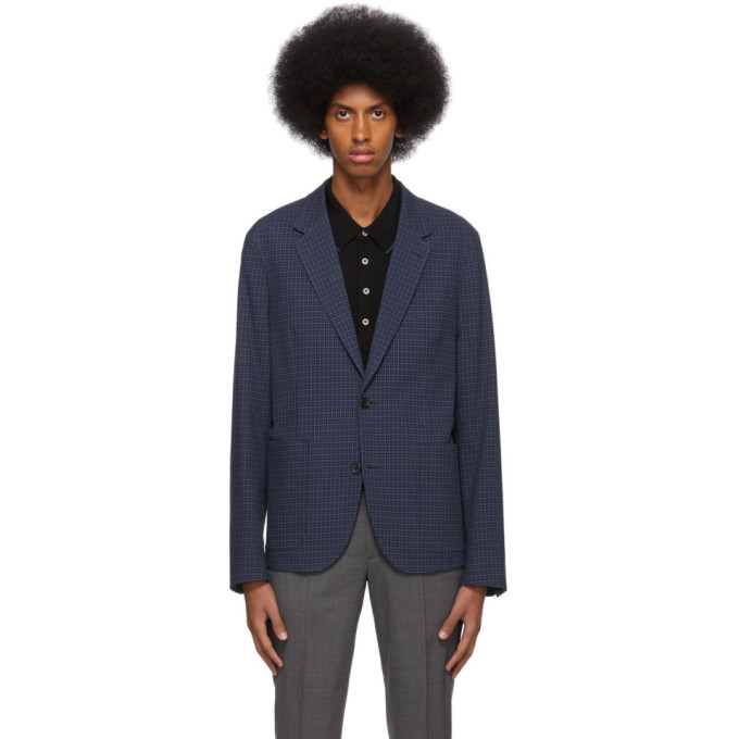 Photo: PS by Paul Smith Blue Check Jacket