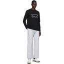 Martine Rose Black Classic Long Sleeve T-Shirt